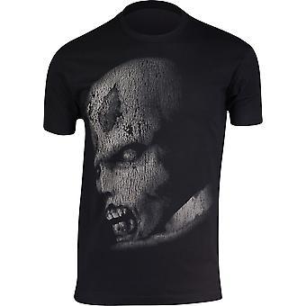 Capcom Mens Resident Evil ursprünglichen Zombie T-Shirt-schwarz