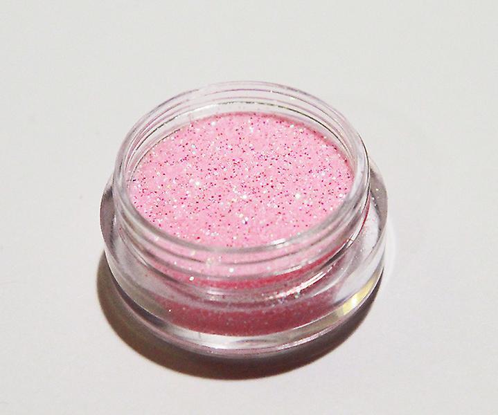 1x finkornet glitter babypink