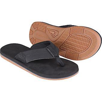 Quiksilver Mens Oasis côtière II plage sandales Casual - noir