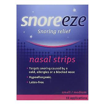 Snoreeze nasale bandes petite/moyenne 10