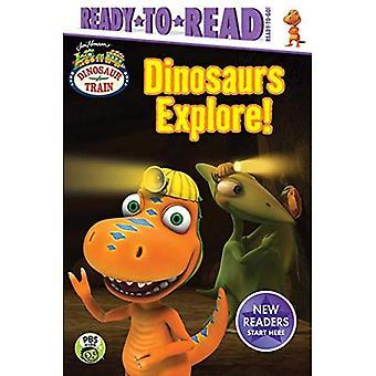 Explorez les dinosaures! (Train de dinosaures)