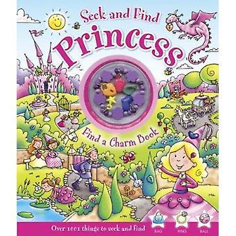 Seek and Find Princess - Find a Charm Book by Rachel Elliot - Lisa Reg