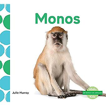 Monos (Monkeys) by Julie Murray - 9781624026348 Book