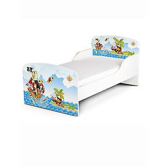 PriceRightHome Pirate Toddler Bed