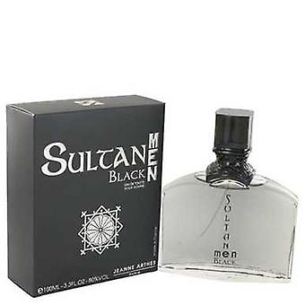 Sultan Black By Jeanne Arthes Eau De Toilette Spray 3.3 Oz (men) V728-482371