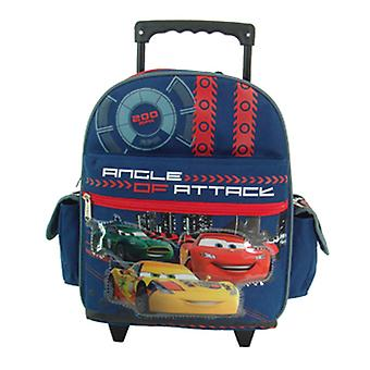 Small Rolling Backpack - Disney - Cars - Angle Of Attack  New School Bag 602147