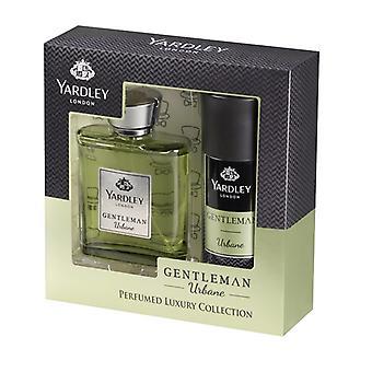 Yardley Gentleman Urbane Gift Set 100ml EDT + 150ml Body Spray