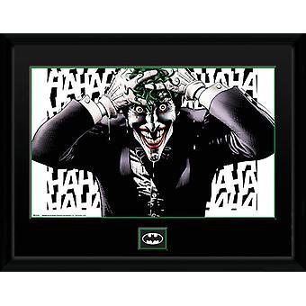DC Comics Killing Joke Framed Collector Print 40x30cm