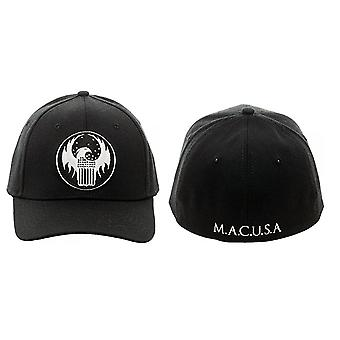 Baseball Cap - Fantastic Beasts Them Macusa Shield Black Flex Hat bx4gl9fan