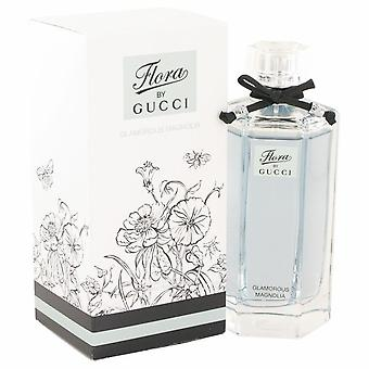 Flora Glamorous Magnolia Eau De Toilette Spray Von Gucci 500077 100 ml