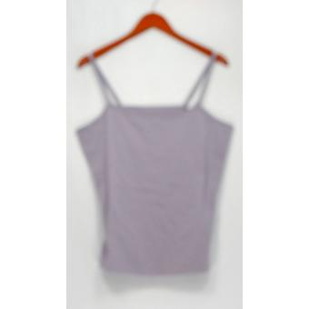 Liz Claiborne New York Top Essentials Scoop Neck Purple A231828