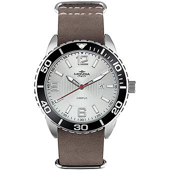 Mondia campus sport Japanese Quartz Analog Man Watch with Mi754-2CP Cowskin Bracelet