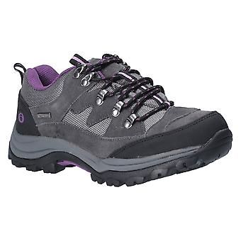 Cotswold Womens Oxerton wicking respirável andando sapatos