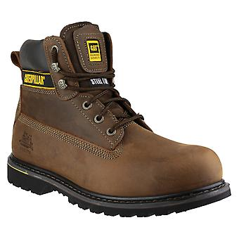 Caterpillar Mens Holton Lace Up Boot Brown