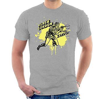 Flash Gordon Ray Gun Zanng Men's T-Shirt