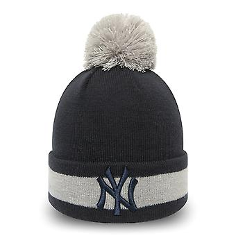 New Era Bommel Beanie KINDER Wintermütze - NY Yankees