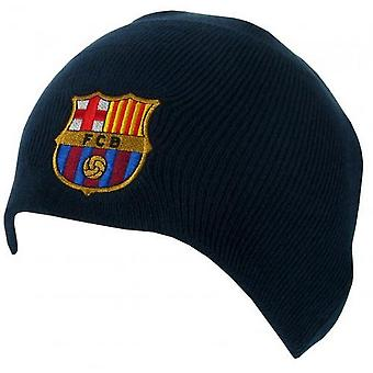 FC Barcelona Unisex Adults Knitted Dome Hat