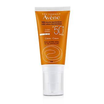 Velmi vysoká ochrana krémová SPF 50 + (pro suchou citlivou kůži)-50ml/1,7 oz