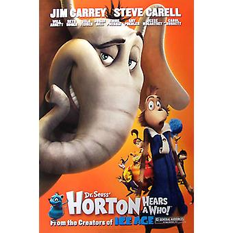Horton hör en vem! (Enkelsidig Advance Style B) Ursprunglig biograf affisch