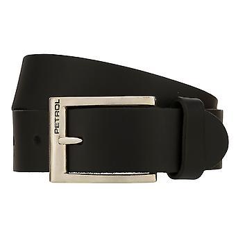 Teal Belt Men's Belt Leather Belt Denim Belt Black 8248