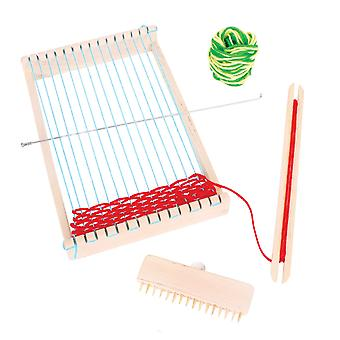 Bigjigs Toys Wooden Weaving Loom for Kid's Children Arts Crafts