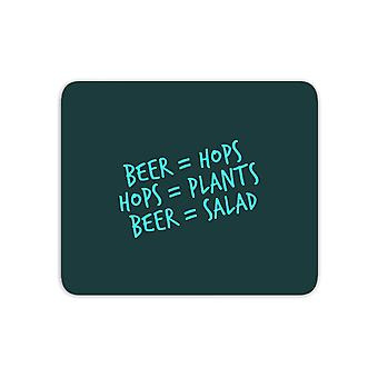 Beer Salad Mouse Mat