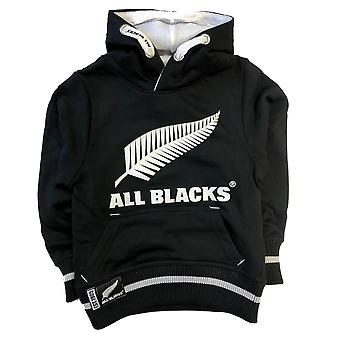 New Zealand Rugby Rugby All Blacks Kids Over Head Hoodie | Black | 2019/20 Season