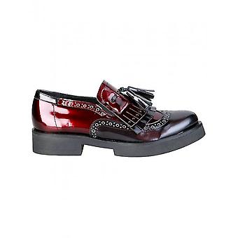 Ana Lublin - Shoes - Moccasins - ANETTE_NERO-BORDEAUX - Women - black,darkred - 36
