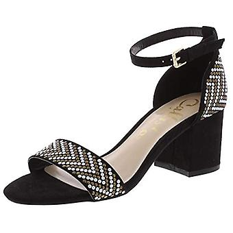 Callisto of California Womens Nessa Faux Suede Studded Dress Sandals