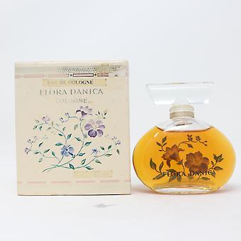 Flora Danica by Royal Copenhagen Eau De Cologne 2oz/57ml Splash Vinatage