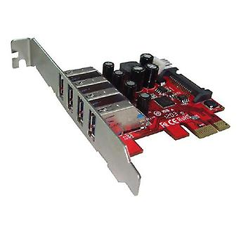Shintaro Pcie Usb 3 X 4 Port Adapter