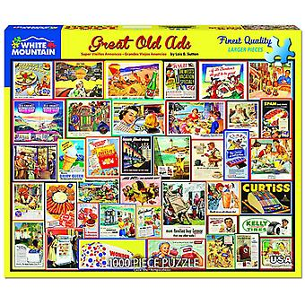 Great Old Ads 1000 Piece Jigsaw Puzzle 760mm x 610mm (wmp)