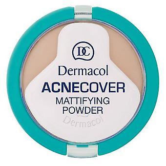 Dermacol Acnecover Mattifying 粉末蜂蜜 (化粧、顔、Mattifying 粉末)