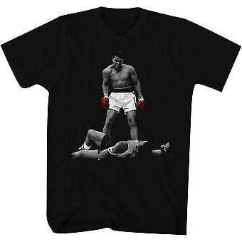 American Classics Muhammad Ali rode handschoenen T-shirt-zwart
