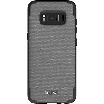 TUMI Coated Canvas Co-Mold Case for Samsung Galaxy S8 - Grey