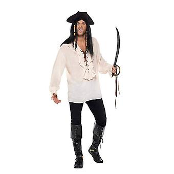 Pirate Shirt Adult Ivory