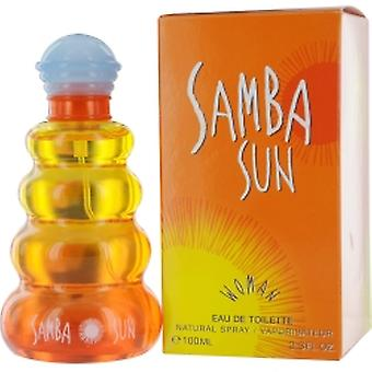 Samba Sonne von Parfümeren Workshop Edt Spray 3,4 Oz