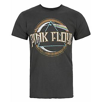 Amplified Pink Floyd On The Run Charcoal Men&s Band T-Shirt