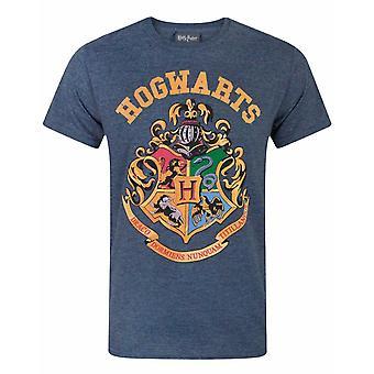 Harry Potter Tylypahkan Crest Miesten's Heather T-paita