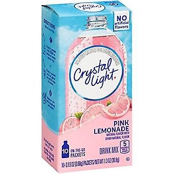 Crystal Light On The Go Pink Lemonade Sugar Free Soft Drink Mix