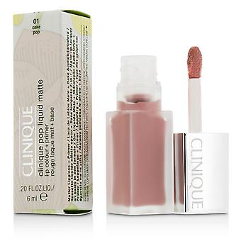 Pop liquid matte lip colour + primer # 01 cake pop 207058 6ml/0.2oz