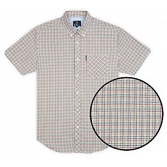 BEN SHERMAN Ben Sherman Mini Gingham Check Shirt