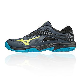 Мидзуно молнии звезд Z4 Junior крытый корт обувь