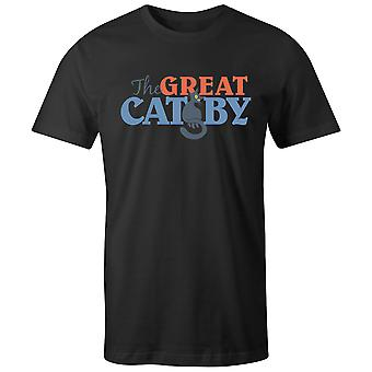 Boys Crew Neck Tee Short Sleeve Men's T Shirt- The Great Catsby