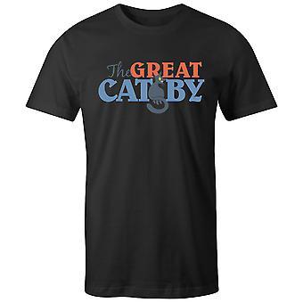 Boys Crew Neck Tee Short Sleeve Men-apos;s T Shirt- The Great Catsby
