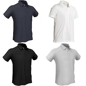 Slam Mens Paterson Technical Short Sleeve Polo Shirt