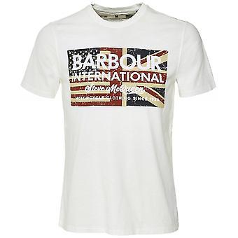 Barbour International SMQ Vintage Flag T-Shirt