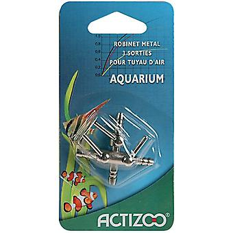 Zolux Metalica key 3 Exits (Fish , Aquarium Accessories , Tubes, Suction Pads & Clips)