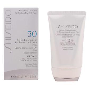 Crema solare facciale Ambiente Urbano Shiseido SPF 50