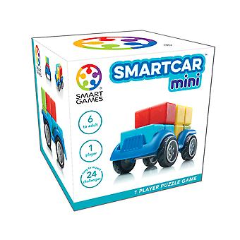 SmartGames SmartCar Mini Compact One Player Puzzle Game 24 Challanges Ages 6